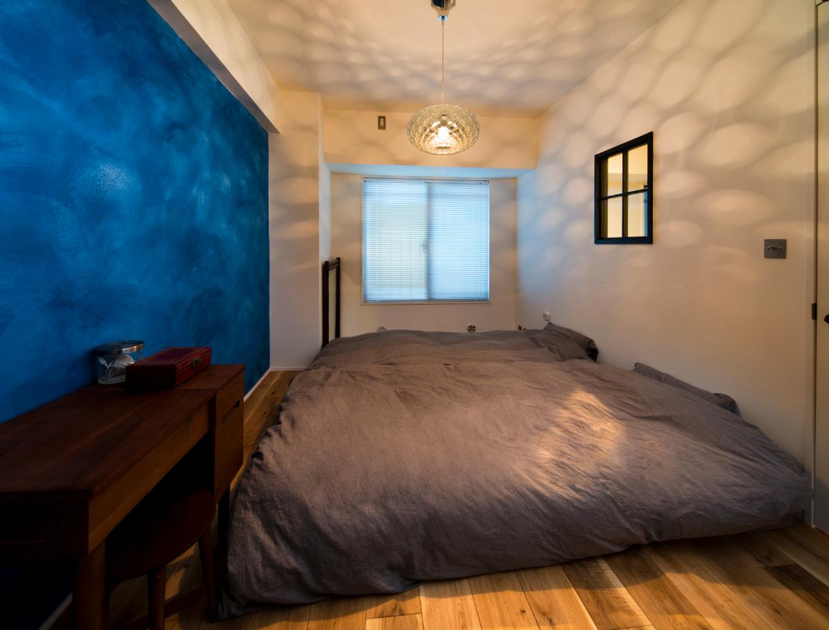 リノベーション後の寝室