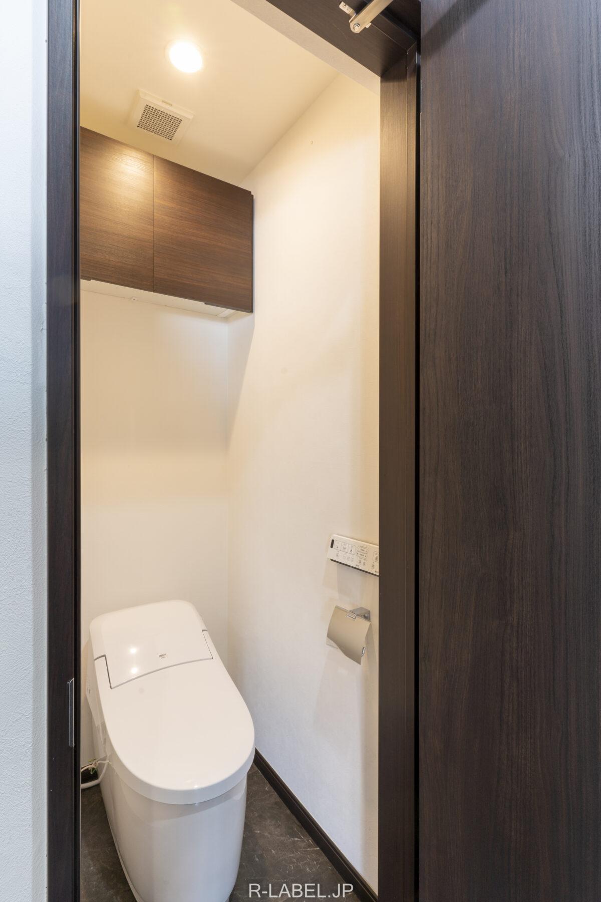 リノベーション後のトイレ