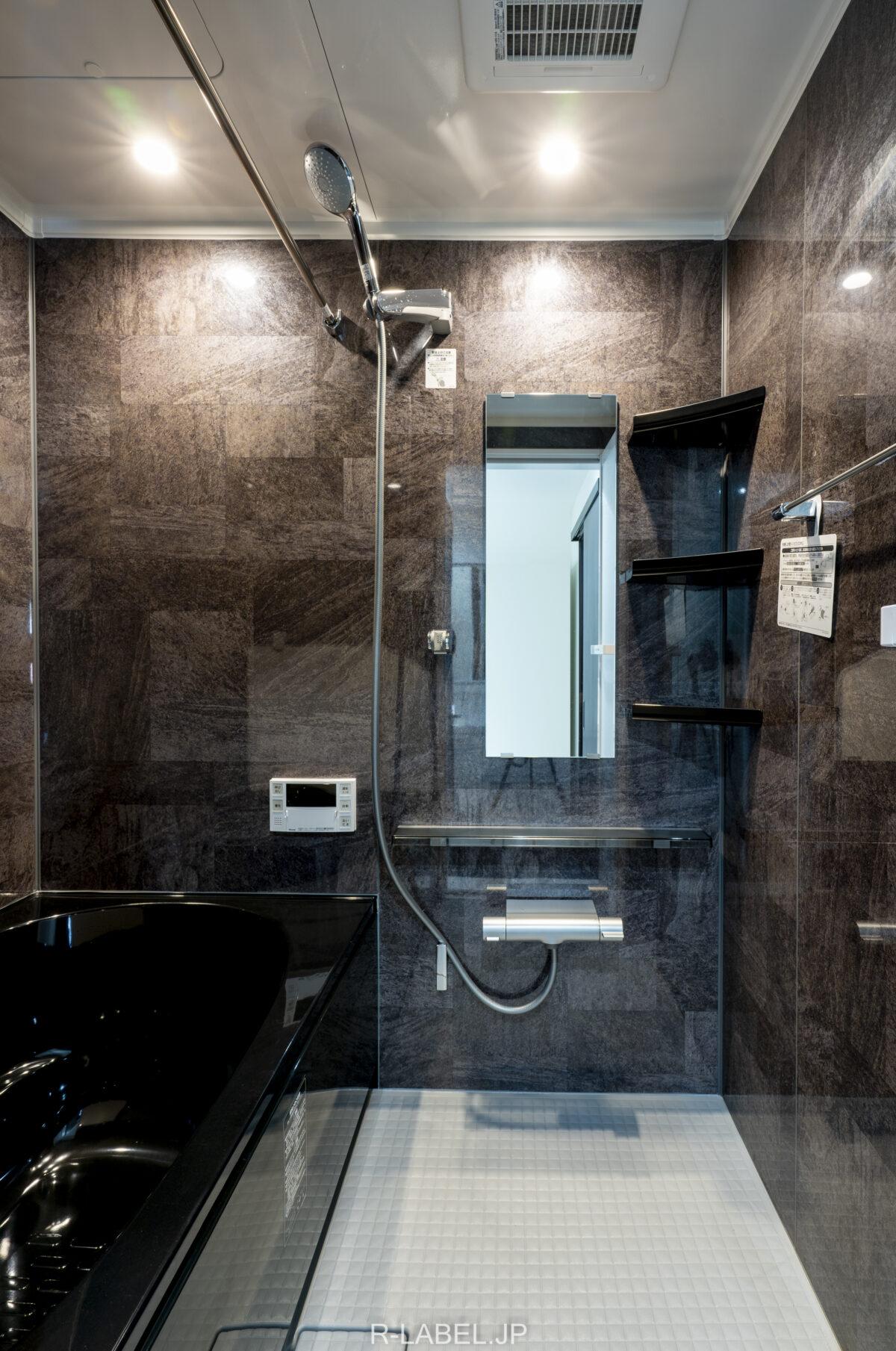 リノベーション後の浴室浴室(2)