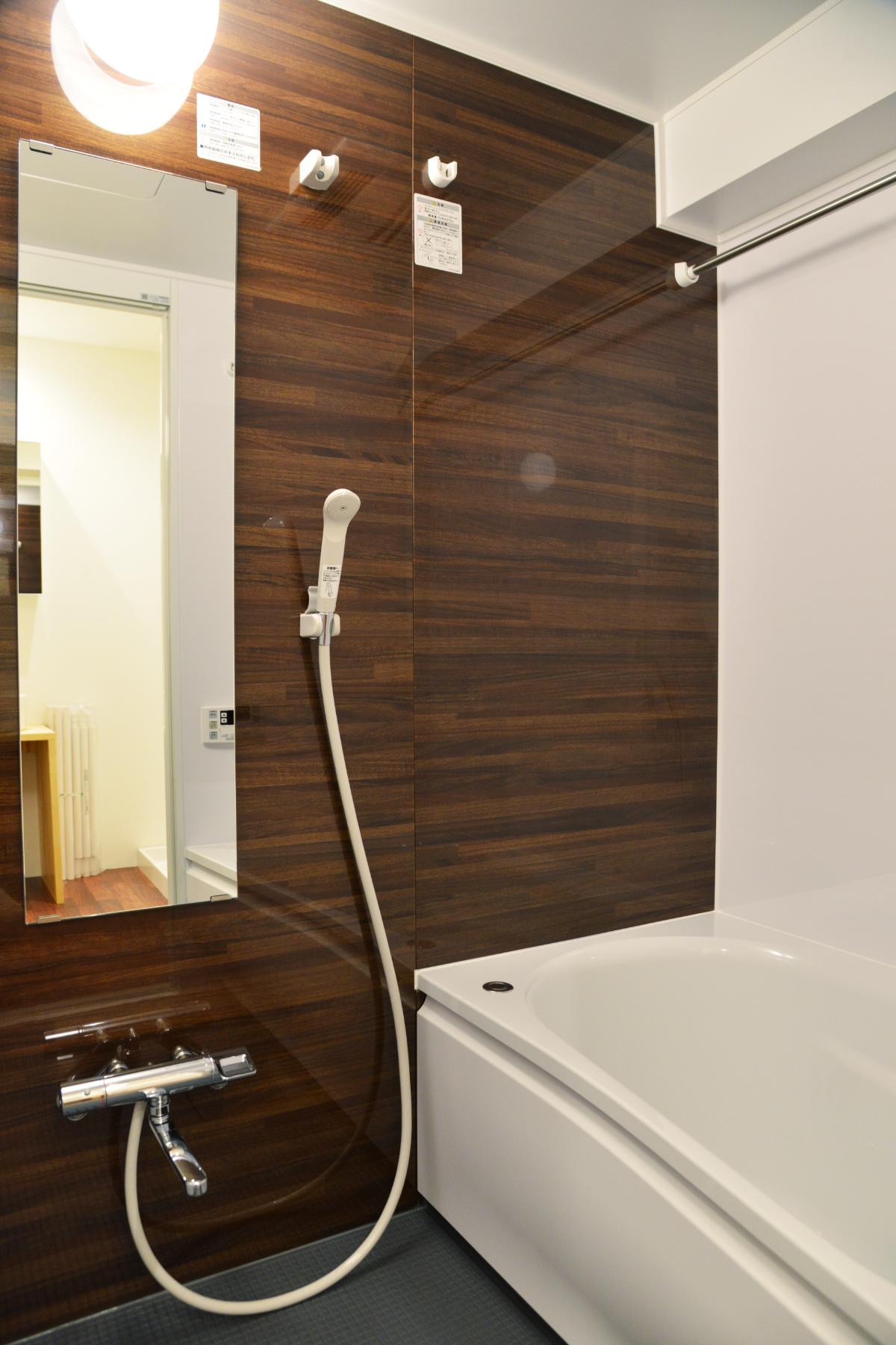 リノベーション後の浴室